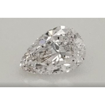 1.66 Carat Pear Loose Diamond, D, SI1, Excellent, GIA Certified