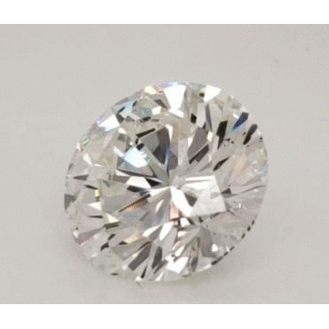 7.43 Carat Round Loose Diamond, H, SI2, Excellent, GIA Certified