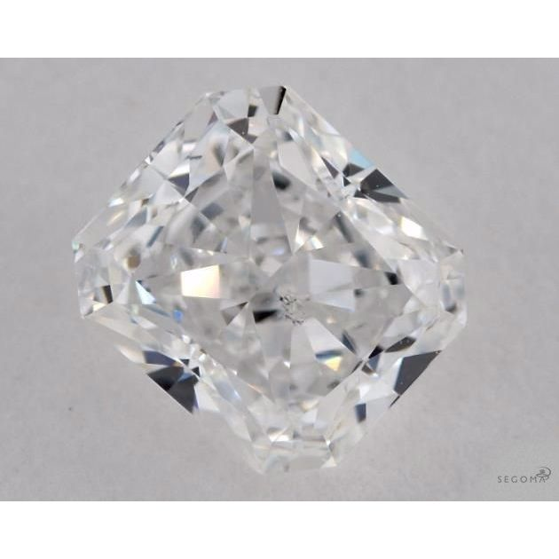 1.04 Carat Radiant Loose Diamond, E, SI1, Excellent, GIA Certified