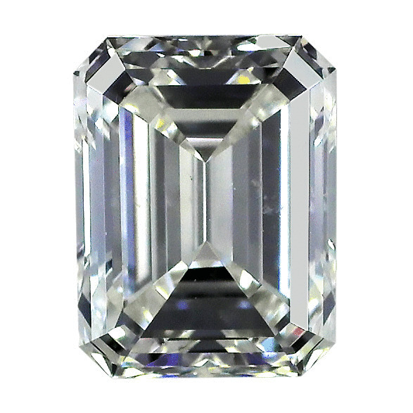 1.30 Carat Emerald Loose Diamond, J, SI1, Ideal, GIA Certified