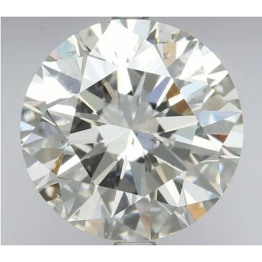 2.74 Carat Round Loose Diamond, I, SI1, Super Ideal, GIA Certified