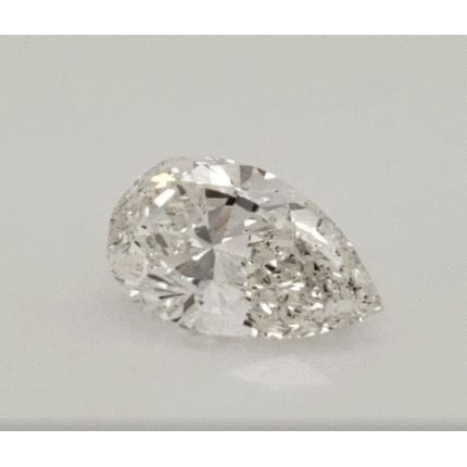 3.02 Carat Pear Loose Diamond, I, SI2, Excellent, GIA Certified