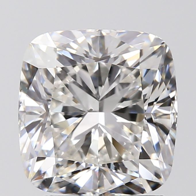 2.01 Carat Cushion Loose Diamond, G, VS2, Ideal, GIA Certified