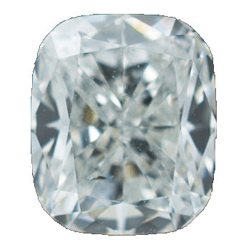 0.50 Carat Cushion Loose Diamond, F, SI2, Excellent, GIA Certified | Thumbnail