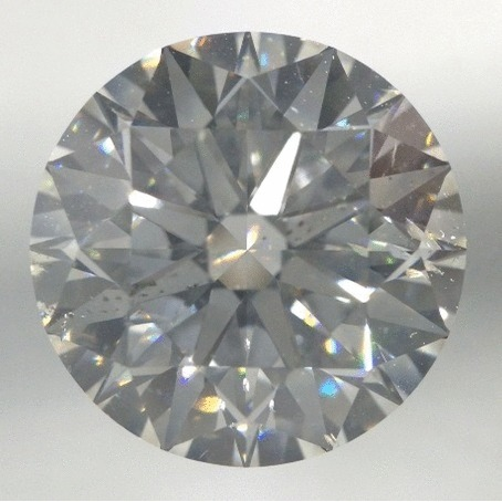 4.52 Carat Round Loose Diamond, H, SI1, Super Ideal, GIA Certified