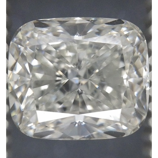 3.01 Carat Cushion Loose Diamond, H, VVS2, Ideal, GIA Certified | Thumbnail