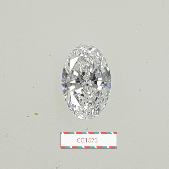 0.77 Carat Oval Loose Diamond, D, SI1, Super Ideal, GIA Certified | Thumbnail