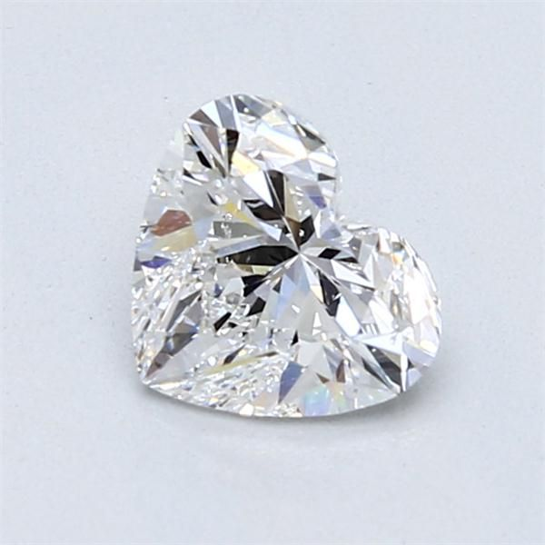0.92 Carat Heart Loose Diamond, D, SI2, Super Ideal, GIA Certified