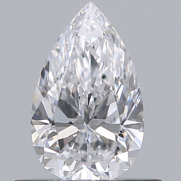 0.42 Carat Pear Loose Diamond, D, VS1, Ideal, GIA Certified