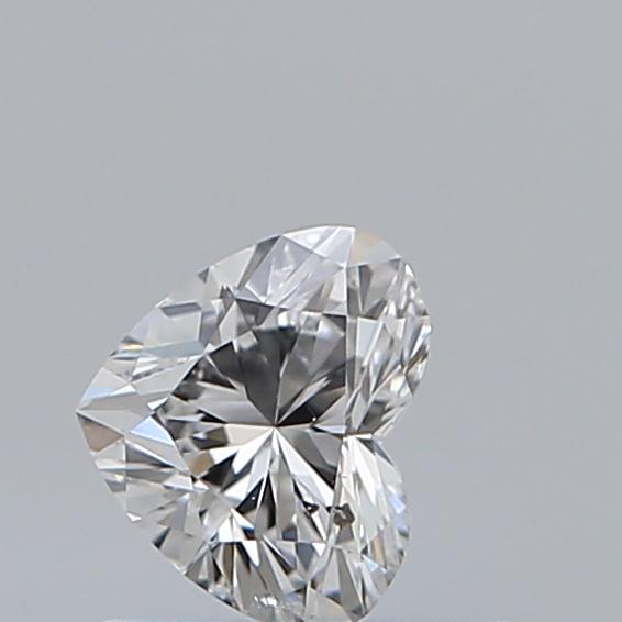 0.43 Carat Heart Loose Diamond, E, SI2, Ideal, GIA Certified