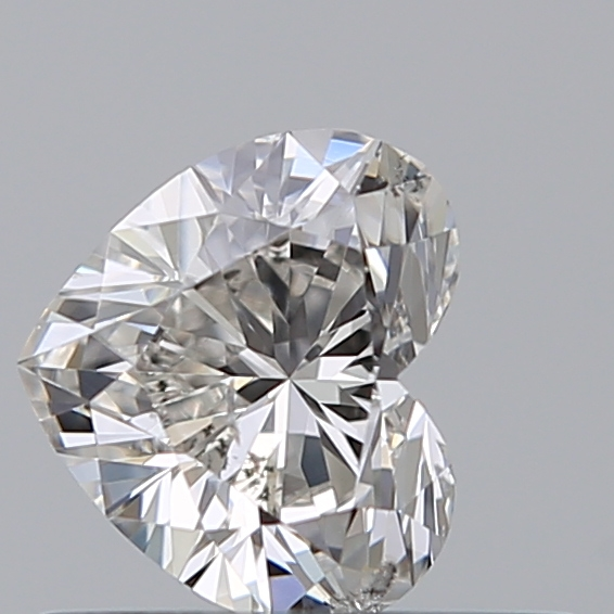 0.36 Carat Heart Loose Diamond, H, SI2, Ideal, GIA Certified