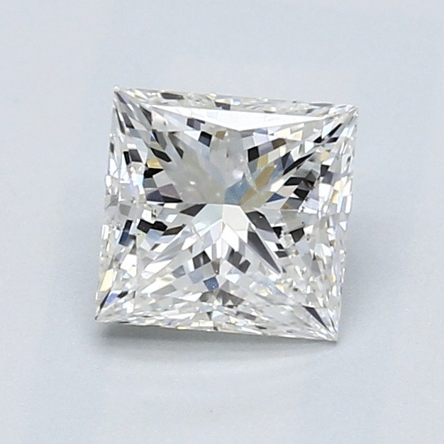 1.21 Carat Princess Loose Diamond, G, SI2, Ideal, GIA Certified