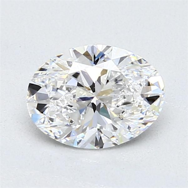 0.90 Carat Oval Loose Diamond, D, VVS1, Super Ideal, GIA Certified
