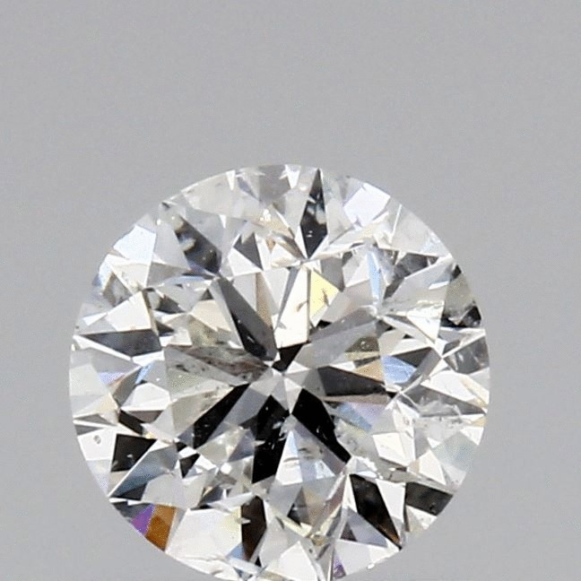 0.80 Carat Round Loose Diamond, G, I1, Excellent, GIA Certified