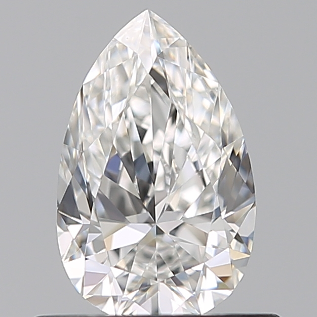 0.51 Carat Pear Loose Diamond, F, VVS2, Super Ideal, GIA Certified | Thumbnail