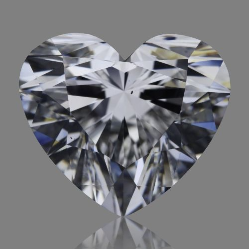 4.02 Carat Heart Loose Diamond, D, VS2, Super Ideal, GIA Certified