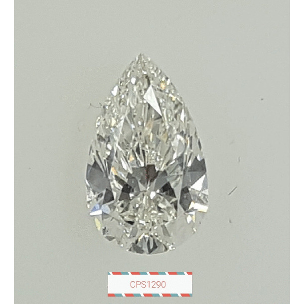 1.14 Carat Pear Loose Diamond, H, VS2, Super Ideal, GIA Certified
