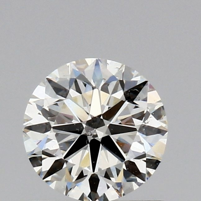0.75 Carat Round Loose Diamond, K, VS2, Ideal, GIA Certified