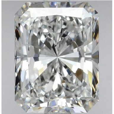 1.51 Carat Radiant Loose Diamond, E, VS2, Super Ideal, GIA Certified