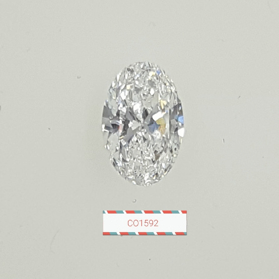 0.80 Carat Oval Loose Diamond, D, SI1, Super Ideal, GIA Certified