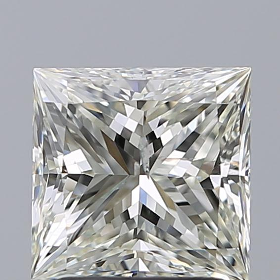 2.01 Carat Princess Loose Diamond, K, SI2, Super Ideal, GIA Certified