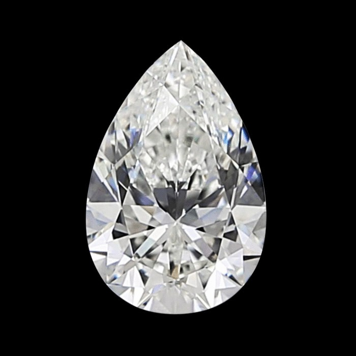 0.97 Carat Pear Loose Diamond, H, VS2, Super Ideal, GIA Certified | Thumbnail