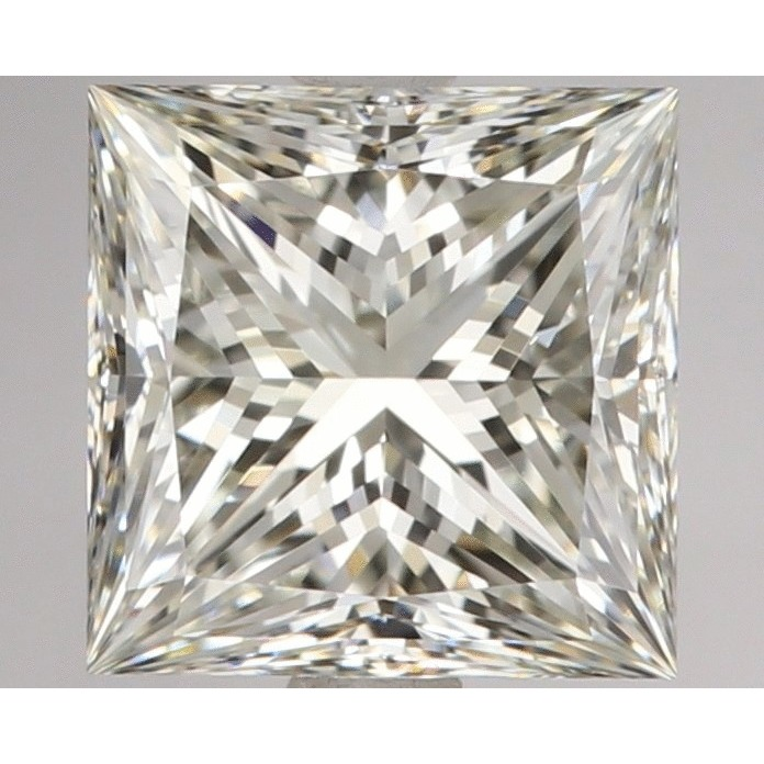 1.50 Carat Princess Loose Diamond, K, VS1, Super Ideal, GIA Certified | Thumbnail