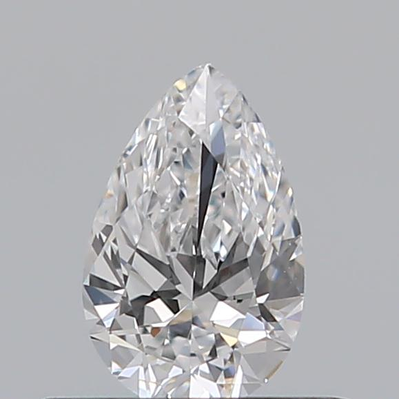 0.30 Carat Pear Loose Diamond, D, VS1, Super Ideal, GIA Certified | Thumbnail