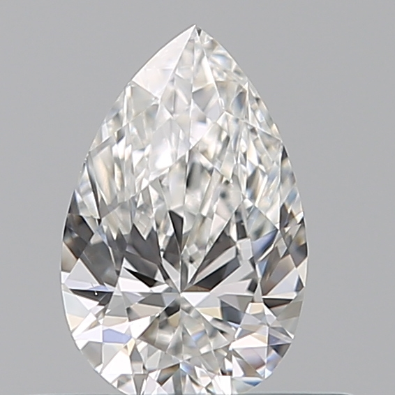 0.35 Carat Pear Loose Diamond, F, VS1, Ideal, GIA Certified | Thumbnail