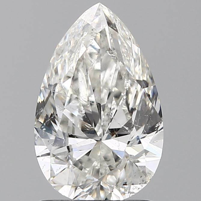 1.50 Carat Pear Loose Diamond, H, SI2, Excellent, GIA Certified