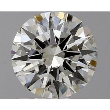 1.00 Carat Round Loose Diamond, I, SI1, Super Ideal, GIA Certified
