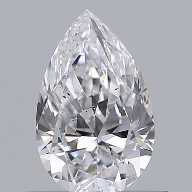 0.42 Carat Pear Loose Diamond, D, SI1, Ideal, GIA Certified
