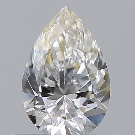 0.35 Carat Pear Loose Diamond, H, SI1, Excellent, GIA Certified