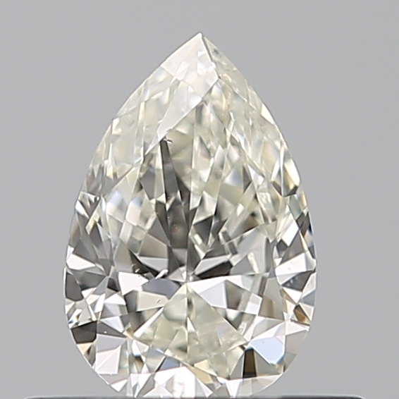0.35 Carat Pear Loose Diamond, K, VS2, Excellent, GIA Certified
