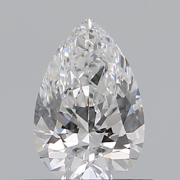 0.40 Carat Pear Loose Diamond, D, VS1, Ideal, GIA Certified