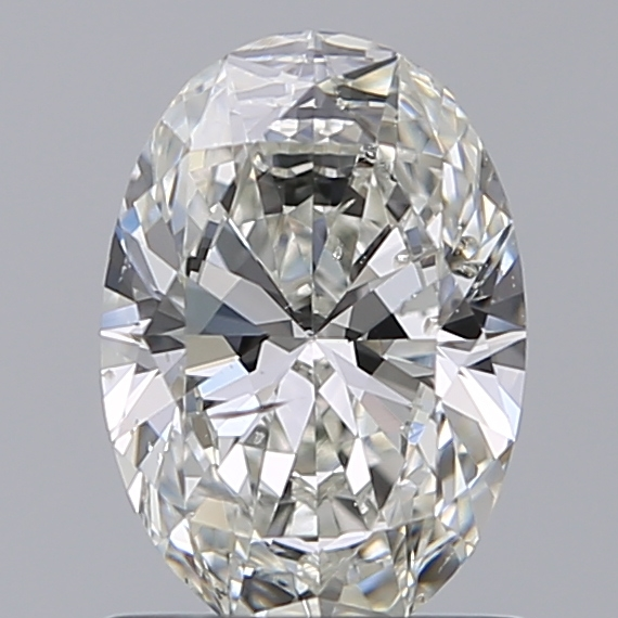 1.02 Carat Oval Loose Diamond, I, SI2, Super Ideal, GIA Certified