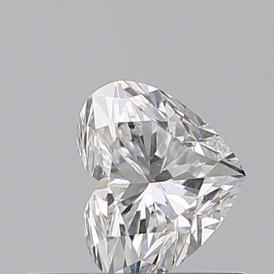 0.35 Carat Heart Loose Diamond, F, SI2, Excellent, GIA Certified