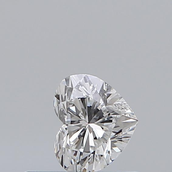 0.31 Carat Heart Loose Diamond, E, VS2, Super Ideal, GIA Certified