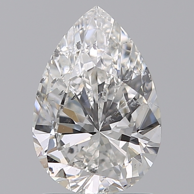 1.50 Carat Pear Loose Diamond, G, SI2, Excellent, GIA Certified