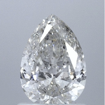1.00 Carat Pear Loose Diamond, H, I1, Ideal, GIA Certified