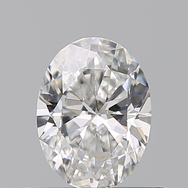 0.43 Carat Oval Loose Diamond, F, VS2, Excellent, GIA Certified