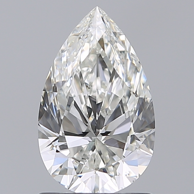 1.05 Carat Pear Loose Diamond, H, VS2, Super Ideal, GIA Certified | Thumbnail