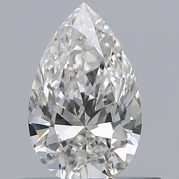 0.41 Carat Pear Loose Diamond, H, VS2, Ideal, GIA Certified | Thumbnail