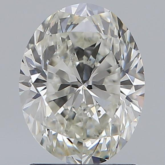 1.50 Carat Oval Loose Diamond, I, SI1, Excellent, GIA Certified