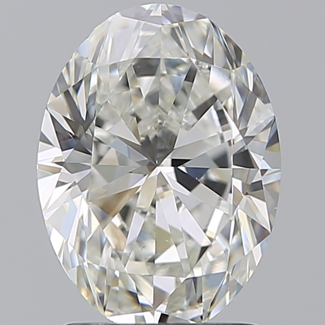 1.79 Carat Oval Loose Diamond, H, VS1, Super Ideal, GIA Certified | Thumbnail