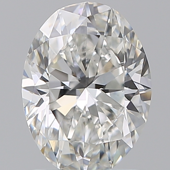 1.29 Carat Oval Loose Diamond, F, VS2, Ideal, GIA Certified | Thumbnail