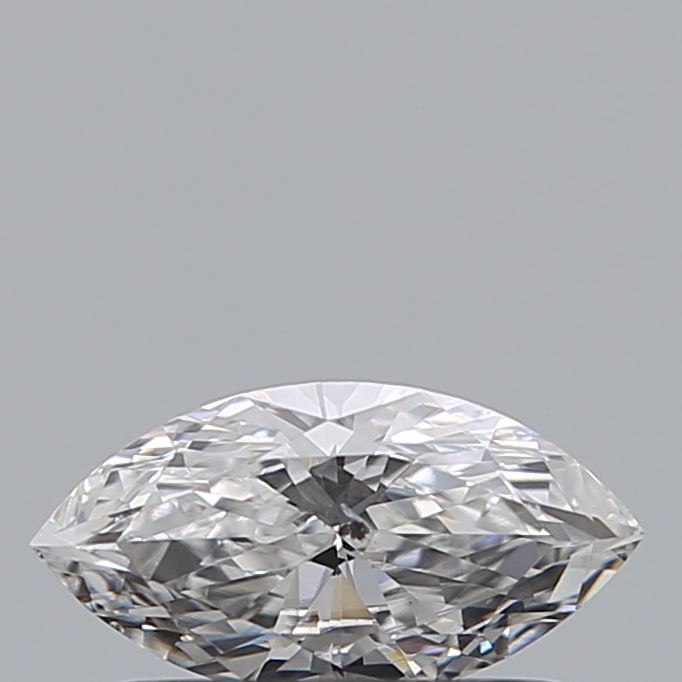 0.32 Carat Marquise Loose Diamond, D, SI2, Excellent, GIA Certified