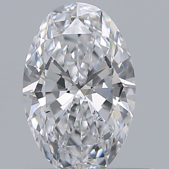 0.41 Carat Oval Loose Diamond, D, SI1, Ideal, GIA Certified