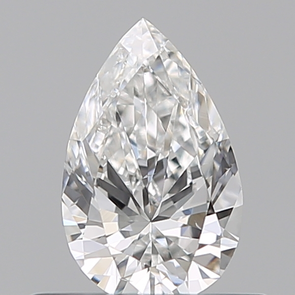 0.38 Carat Pear Loose Diamond, E, VS2, Ideal, GIA Certified
