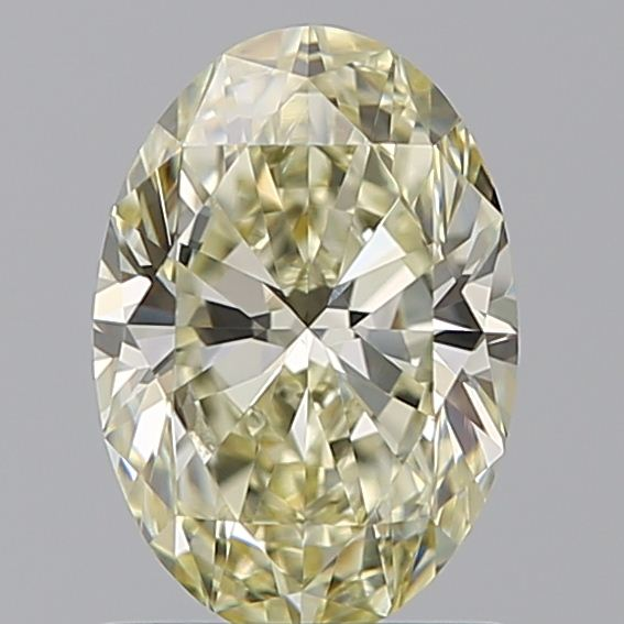 1.00 Carat Oval Loose Diamond, W-X, VS1, Super Ideal, GIA Certified